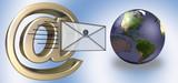 e-mail world poster