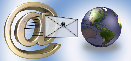 e-mail world