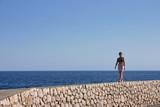 donna al mare poster