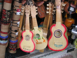 guitarras pequeñas