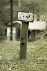 schild privat