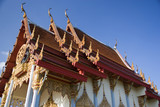 thai buddhist temple poster