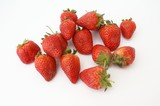 strawberry. fruit. nutrition. food poster