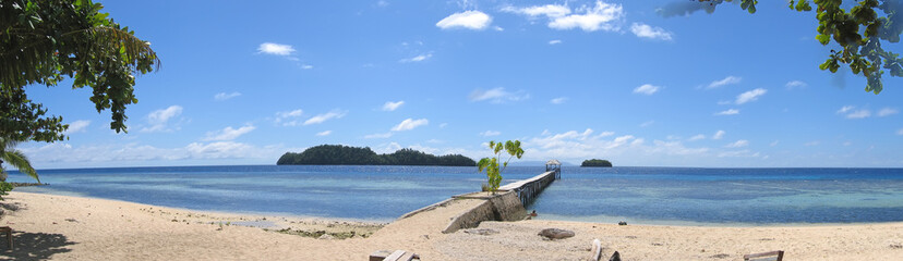 beach of pulau kadidiri, togians island, sulawesi, indonesia, la