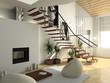 modern comfortable interior - 2923012