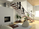 Fototapety modern comfortable interior