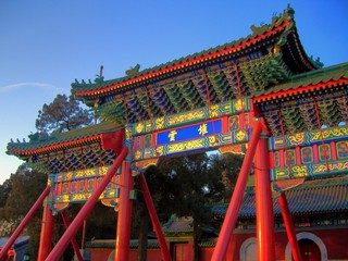beijing - old chinese gate
