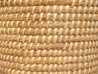 """""""backgrounds: patterns"""": coiled reed basket"""