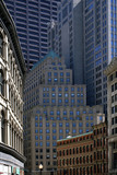 clustered buildings poster