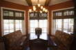 dining room with table and chairs in home.