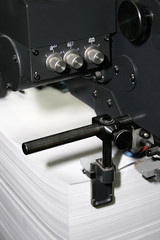 work of the printed equipment
