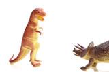 dinosaurs meet poster