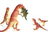 dinosaur family dinner poster