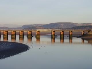 arnside railway viaduct