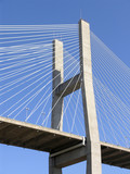 cable stay bridge poster