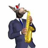 donkey - smooth jazz 1 poster