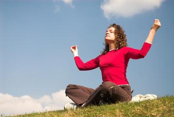 female joga