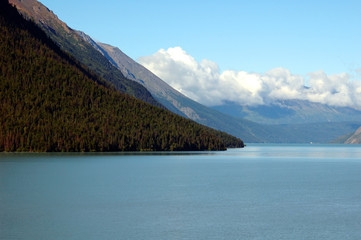 lake on the kenai peninsula alaska