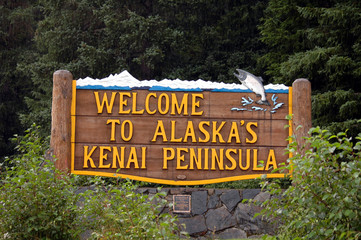 welcome to alaska's kenai peninsula