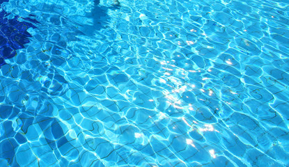 resort blue pool