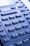 close-up of telephone keypad. poster