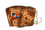key chain souvenir dominican republic poster
