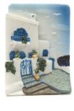 greek island souvenirs poster