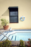 roof top swimming plunge pool poster