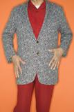 Man in sport coat jacket. poster