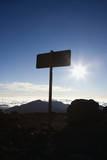 Sign in Haleakala National Park in Maui, Hawaii. poster
