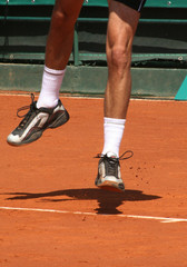 il volo del tennis
