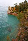 miners castle pictured rocks poster