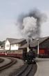 porthmadog - ffestiniog steam train