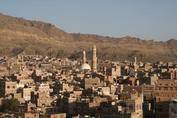 Yemen Cityscape Sanaa