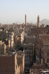 Yemen Cityscape, main mosque