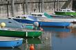 Leinwanddruck Bild - fischerboote