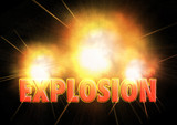 explosion poster
