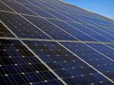 solar energy panels poster