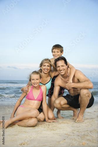 фото голые семья