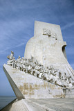 Monument to the Discoveries in Lisbon, Portugal.