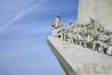 Monument to the Discoveries in Lisbon, Portugal. poster