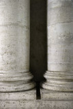 Columns at the Roman Forum in Rome, Italy. poster