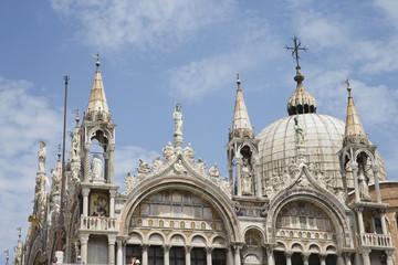 Ornate building in Venice, Italy.
