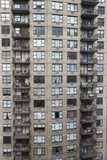 New York City apartment building. poster