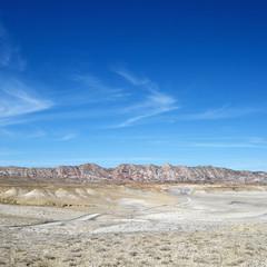 Desert cliffs in Cottonwood Canyon, Utah.