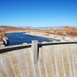 Glen Canyon Dam, Arizona.