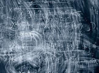 dark blue blackboard