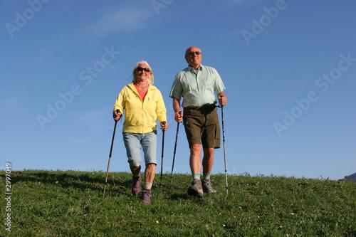 ehepaar beim sport
