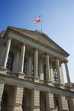 Georgia State Capitol Building in Atlanta, Georgia. poster