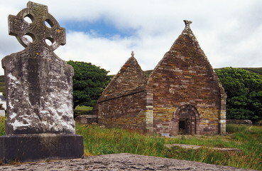 old irish church